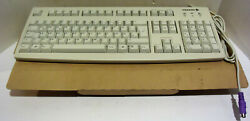 Vintage Cherry Mechanical Keyboard Model G83-6000 Classic Clicker Switch New