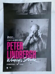 Peter Lindbergh Womenand039s Stories Poster Signiert Autogramm Signed Autograph