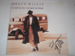 Bruce Willis Autogramm If It Donand039t Kill You Signiert Lp Signed Autograph Inpers