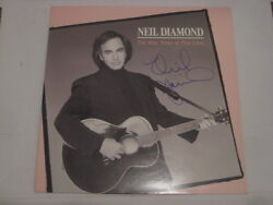 Neil Diamond Autogramm The Best Years Of Our Lives Signiert Lp Signed Autograph