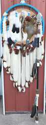 Dream Catcher Spear Indian Mandala Handmade Native American Throwing Weapon Huge