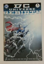 Dc Universe Rebirth 1 Geoff Johns Gary Frank First Printing 2016 Hard To Find