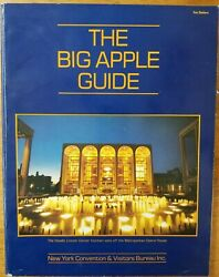 Vintage Big Apple Guide Book 1985 Visitors New York City Ny Maps Info Photos