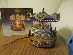 2000 Mr Christmas Gold Label MARQUEE MERRY GO ROUND