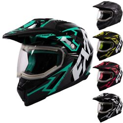 Fxr Racing F20 Octane X Deviant Electric Shield Mens Winter Snowmobile Helmets