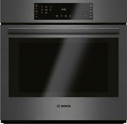 Bosch 800 Series 30 Stainless Steel Convection Single Wall Oven Hbl8442uc