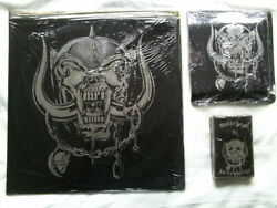 Motorhead No Remorse Special Leather Vinylcd And Cassette.still Sealed.rare