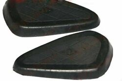 Knee Pads Rubber Black For Plunger And Rigid Frames Bsa M20 M21 M23 @ca