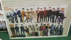 Beatles Poster New 2007 Rare Vintage Collectible Oop Fab 4