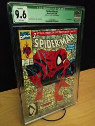SPIDER-MAN #1 CGC 9.6 McFarlane Store Spider's Web Signed 1990 LOA Included 1990