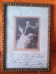 Photograph Of Benedict Xv Dedicated And Signed 1916