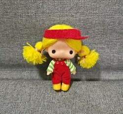 Vintage Rubber Little Big Eye Sanrio Patty And Jimmy Japan Doll