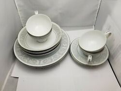 Imperial China By W Dalton Whitney 5671 Set 4 Plates Bowls Cups