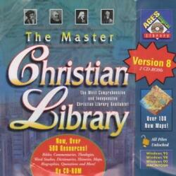 The Master Christian Library 8.0 2-disc Pc Cd-rom Bible Collection 500 Resources