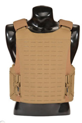 First Spear Sloucher Laser Cut Carrier Balcs / Spear Coyote Brown X-large New