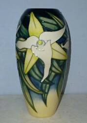 Moorcroft Limited Edition Vase - Allegria Orchid By Emma Bossons 2001