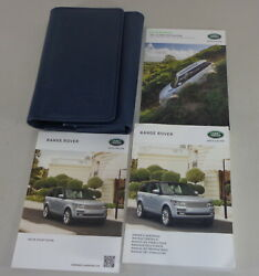 Document Kit + Manual Owner's Manual + Wallet Range Rover LG  L405 Stand 2016