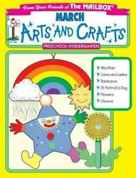 March Monthly Arts And Crafts - Paperback By The Mailbox Books Staff - Good