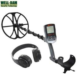 Gold Hunter T90 Full Waterproof Underground Gold Metal Detector With Wireless He