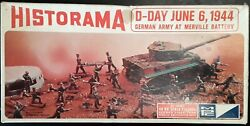 D-day German Army At Merville Battery Historama Mpc Ho Scale And 1/72 Model Kit