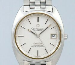 Omega Constellation Gerald Genta St.168.0056 Automatic Vintage Watch 1972and039s