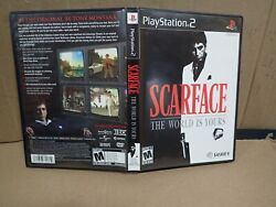 Scarface The World Is Yours Sony Playstation 2 Complete, Black Label W/french