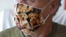 Cloth Face Mask Puppy Puppies Theme $8.00
