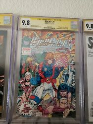 Wildcats 1 Cgc 9.8 Ss Signed Jim Lee Rare 1st Appearance Image Comics