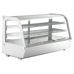 Commercial Countertop Refrigerator 201l Bakery Dairy Display Cooler Case Cake