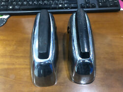 Used Toyota Corona Rt40 1967-69 Over Rider Bumper Front 1 Pair After Market
