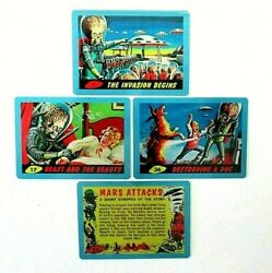Mars Attacks Occupation Blue Metal Card Singles 1962 Images Pick Your Numbers