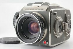 Rare【near Mint】zenza Bronica D Camera Nikkor P 7.5cm 75mm F2.8 From Japan 1197