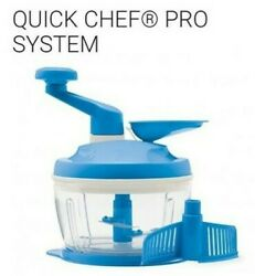 New Tupperware Quick Chef Pro System In Blue