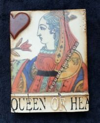 Sid Dickens Memory T-161 Tile Block 2005 Queen Of Hearts T161 Retired
