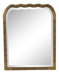 L47070ec Friedman Brothers Model 1035 Floral Paint Decorated Mirror New