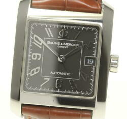 Baume And Mercier Hampton Classic Date M0a08605 Automatic Used Menand039s Watch