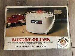 Bachmann 46212 Arco Oil Storage Tank With Blinking Light Ho Scale
