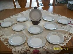 Imperial China Whitney Pattern Designed By W. Dalton 5671 Bread 11 Plates
