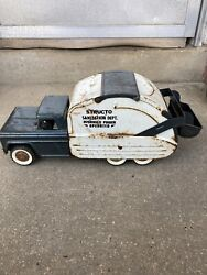 Structo Sanitation Dept. Hydraulic Power Operated Truck, Vintage 1960's Free Shi