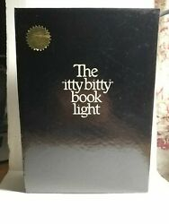 Vtg.1982-zelco-the Itty Bitty Book Light-original-1st Gen-new Old Stock-complete