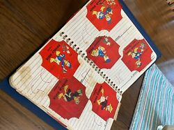 Vintage Bread Wrapper Stickers. Mostly Donald Duck But Others Too. 121 Stickers