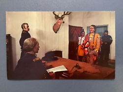 Fort Garland Colorado Kit Carson Diorama Ute Indians Native American 1960s