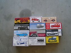 Texaco,eastwood,true Valve And Others Ertl Car Banks