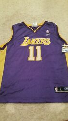 Youth Los Angeles Lakers Karl Malone Large 14/16 Jersey