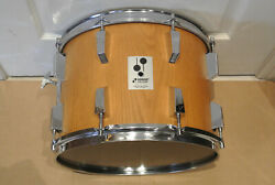 Rare 1979 Sonor-phonic T724 14 Tom In Oak Veneer For Your Drum Set Lot F576