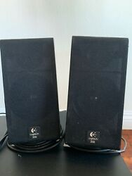 Logitech Z-2300 Computer Speakers - Working - Free Shipping