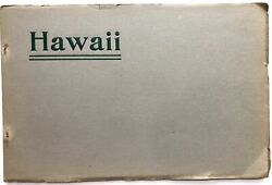 Ernest Francis Acheson / Congressional Party In Hawaii May 1907 Souvenir Letters