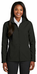 Port Authority Womenand039s Long Sleeve Zipper Collective Soft Shell Jacket. L901