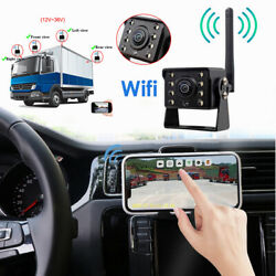 Hd Wifi Wireless Backup Camera For Trucks Campers Trailer Hitch Rear View Camera