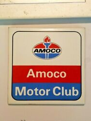 Amoco Motor Club Vintage Hot Plate Rare Vintage. See Pictures